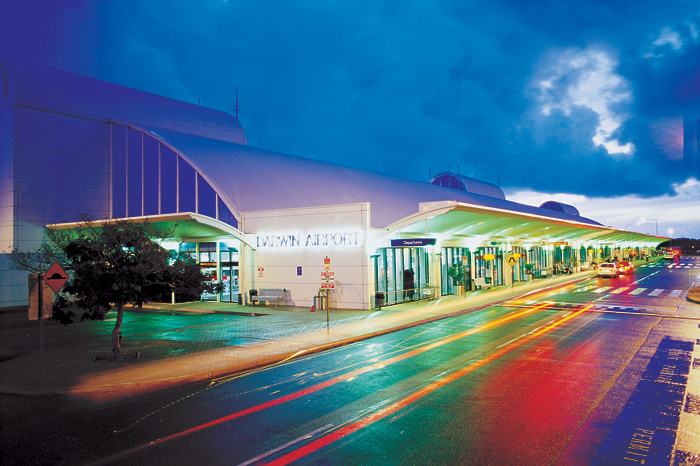 Darwin Airport has introduced smart airports touchpoints